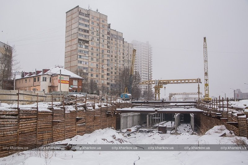 Что сейчас происходит на стройплощадке метро «Победа» (ФОТО) (фото) - фото 1