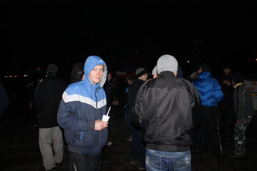 В сессионном зале горисполкома Кривого Рога на ночь остались около сотни участников акции протеста (ФОТОРЕПОРТАЖ), фото-13