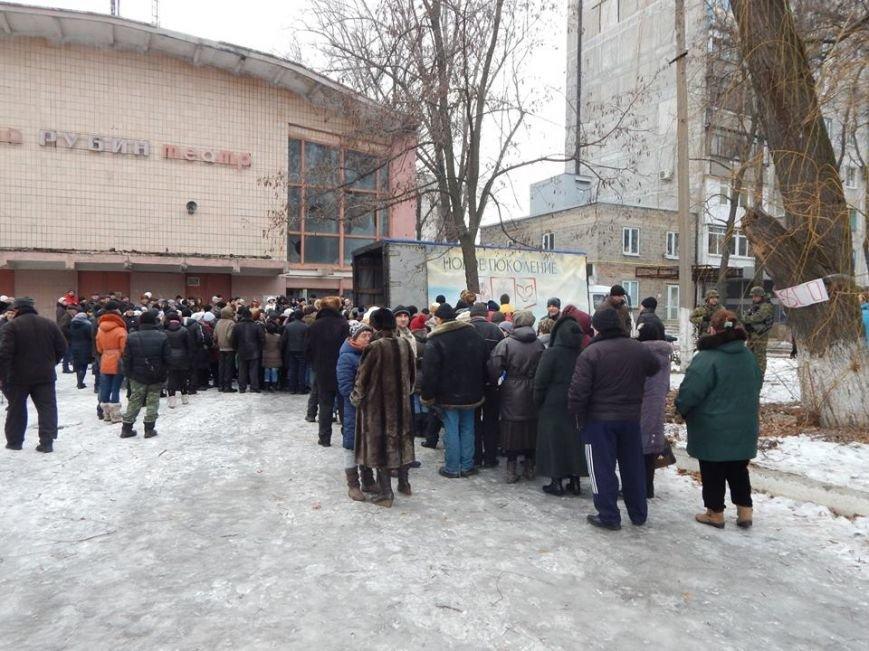Волонтерская группа «Новое поколение» накормила тысячу авдеевцев (фото), фото-1