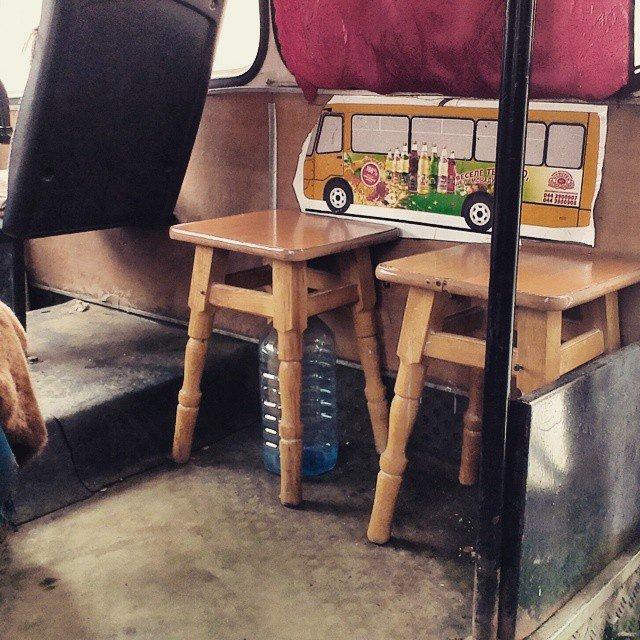В столичных маршрутках сиденья меняют на табуретки (ФОТОФАКТ) (фото) - фото 1