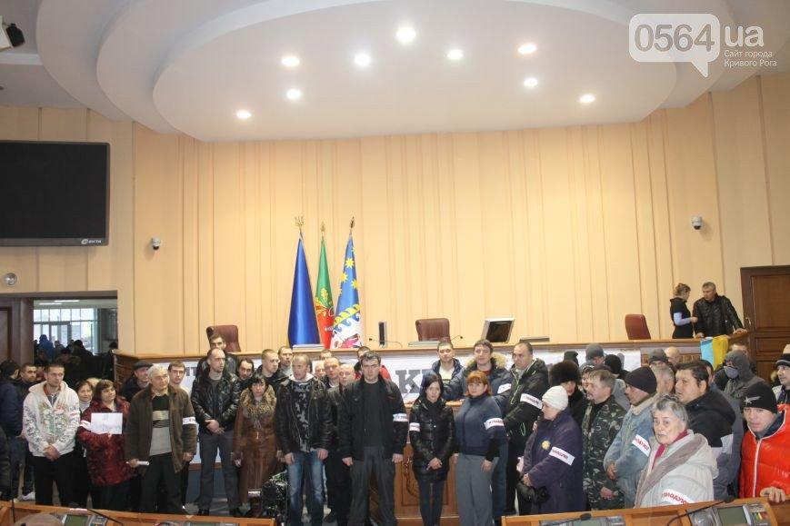 В Кривом Роге почтили память Героев Крут, протестующие объявили голодовку и встретились с Борисом Трейгерманом (фото) - фото 2