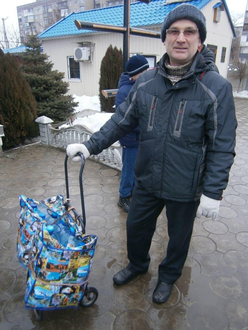 Жители Димитрова снова в поисках воды (фото) - фото 12