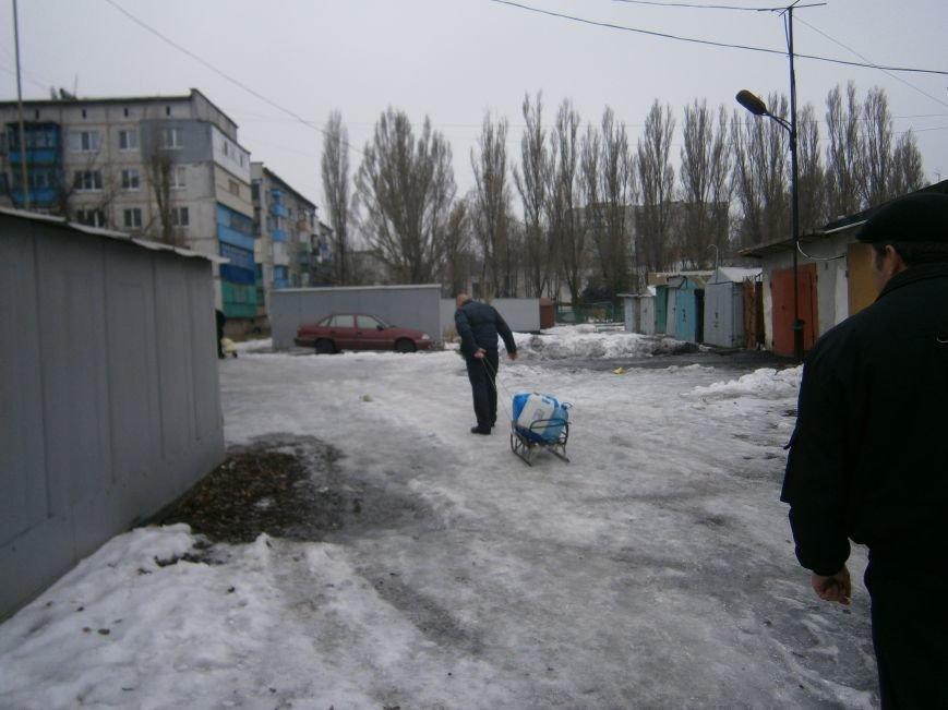 Жители Димитрова снова в поисках воды (фото) - фото 1