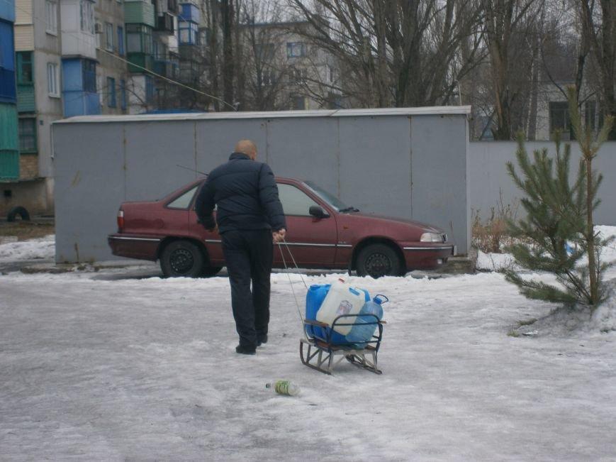 Жители Димитрова снова в поисках воды (фото) - фото 2