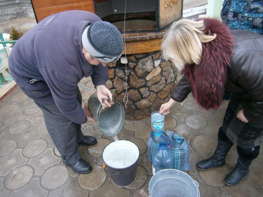 Жители Димитрова снова в поисках воды (фото) - фото 11