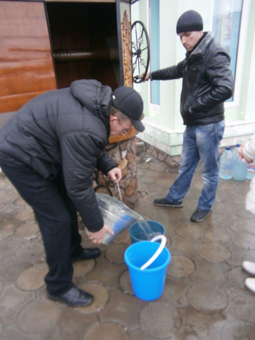 Жители Димитрова снова в поисках воды (фото) - фото 8