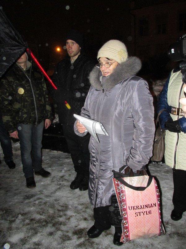 Кременчужане провели митинг, посвящённый памяти героев Крут (ФОТО) (фото) - фото 1