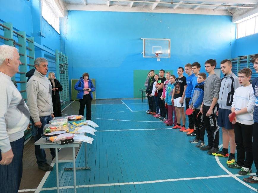 В Димитрове прошло первенство отдела образования по настольному теннису, фото-7