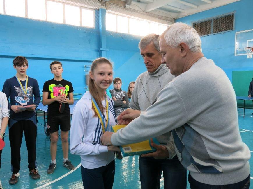 В Димитрове прошло первенство отдела образования по настольному теннису, фото-13