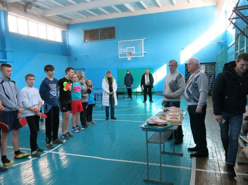 В Димитрове прошло первенство отдела образования по настольному теннису, фото-8