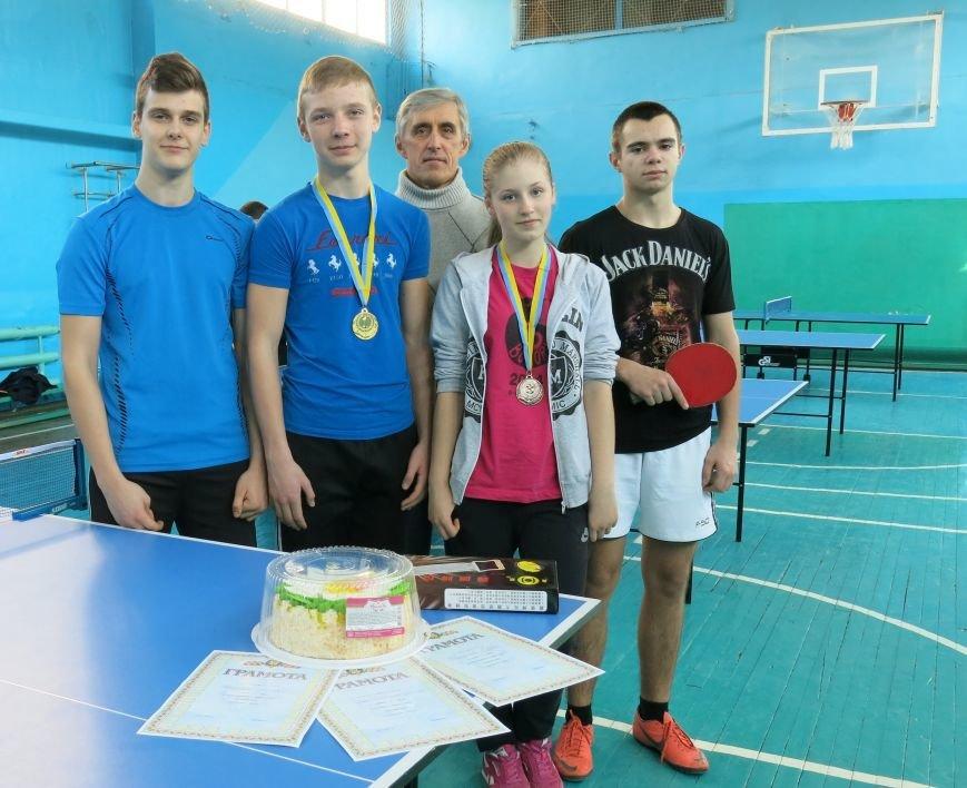 В Димитрове прошло первенство отдела образования по настольному теннису, фото-14