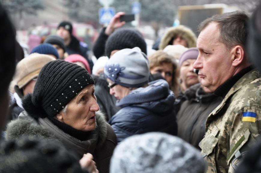 Краматорчане собирались на митинг под военкоматом (ФОТО и ВИДЕО), фото-10