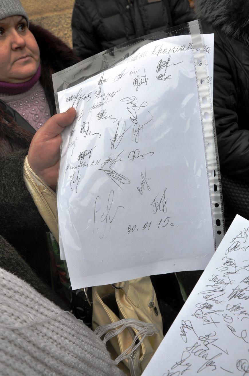 Краматорчане собирались на митинг под военкоматом (ФОТО и ВИДЕО), фото-15