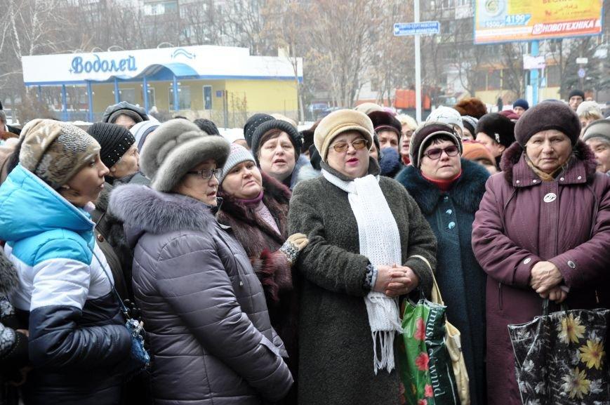 Краматорчане собирались на митинг под военкоматом (ФОТО и ВИДЕО), фото-9