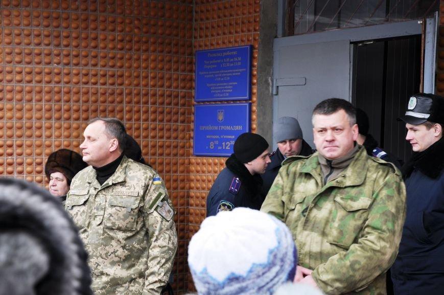Краматорчане собирались на митинг под военкоматом (ФОТО и ВИДЕО), фото-6