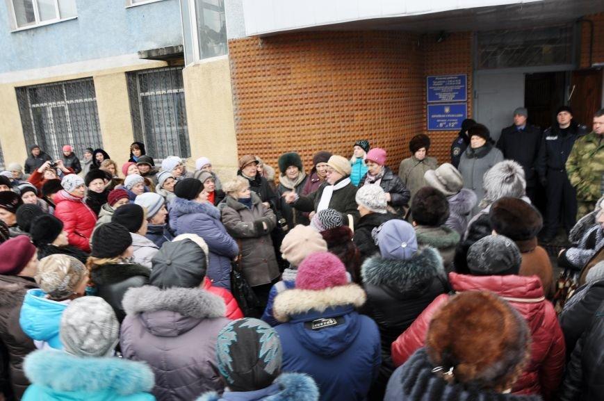 Краматорчане собирались на митинг под военкоматом (ФОТО и ВИДЕО), фото-2