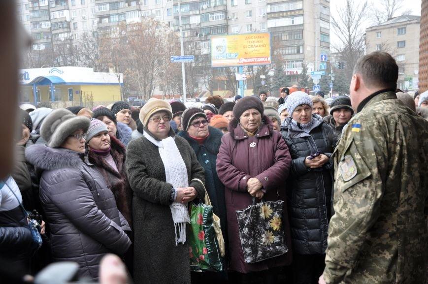Краматорчане собирались на митинг под военкоматом (ФОТО и ВИДЕО), фото-7