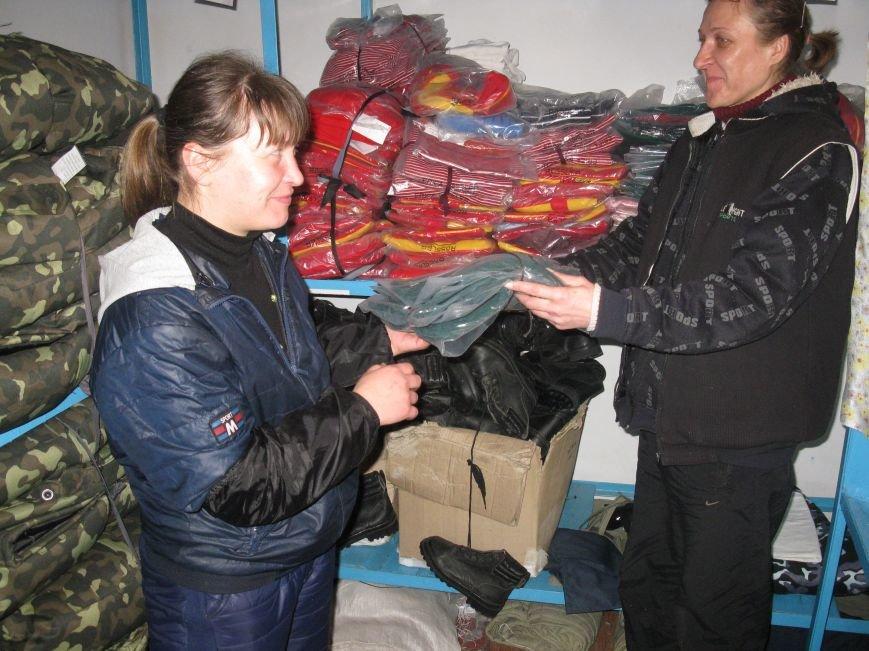 На Днепропетровщине осужденные женщины передали помощь бойцам в зону АТО (фото) - фото 1