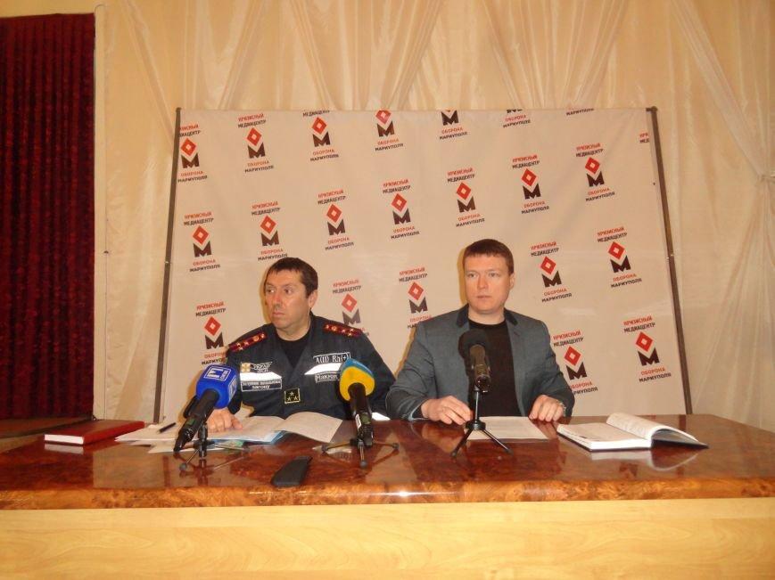 Полковник МЧС рассказал о  чрезвычайной  ситуации в Мариуполе (ФОТО+ВИДЕО) (фото) - фото 1