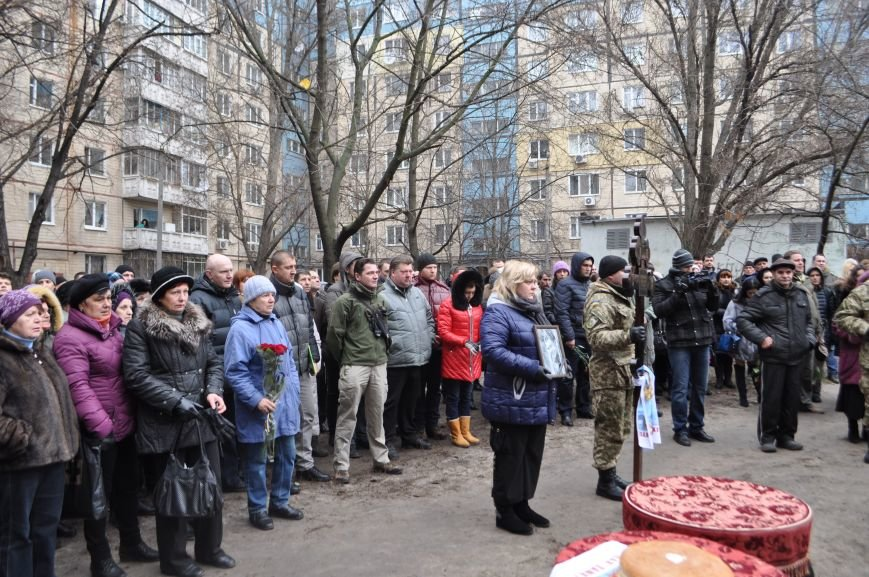 В Днепропетровске проводили в последний путь журналиста и солдата Александра Черникова (ФОТОРЕПОРТАЖ), фото-1