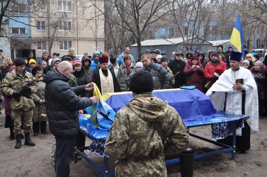 В Днепропетровске проводили в последний путь журналиста и солдата Александра Черникова (ФОТОРЕПОРТАЖ), фото-2