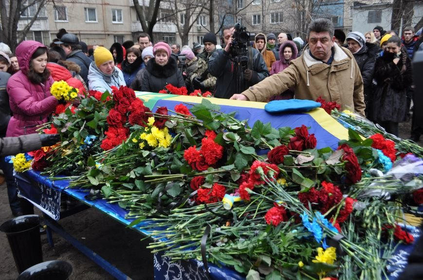 В Днепропетровске проводили в последний путь журналиста и солдата Александра Черникова (ФОТОРЕПОРТАЖ), фото-5