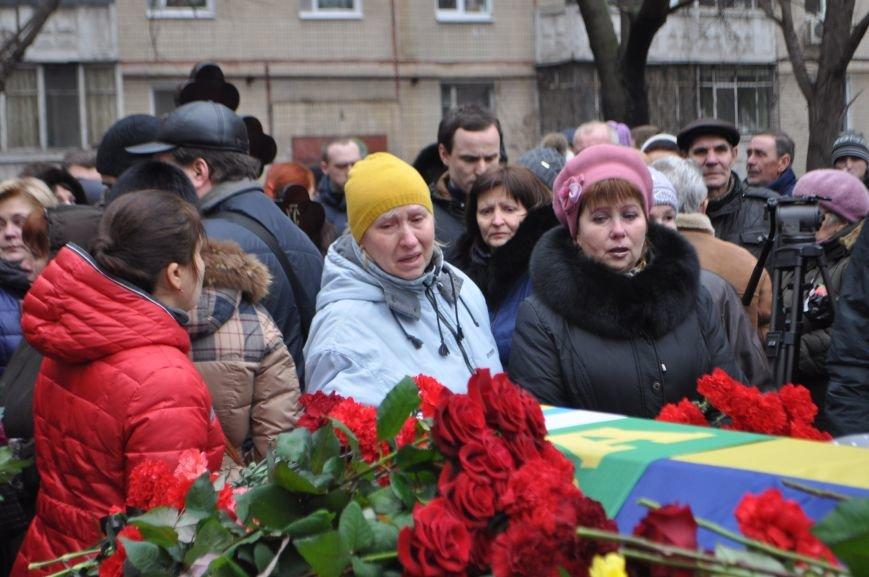 В Днепропетровске проводили в последний путь журналиста и солдата Александра Черникова (ФОТОРЕПОРТАЖ), фото-6