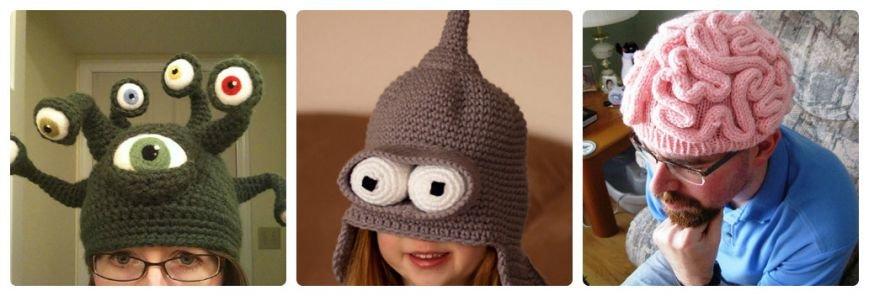 Необычные прикольные шапки ( фото ) (фото) - фото 5