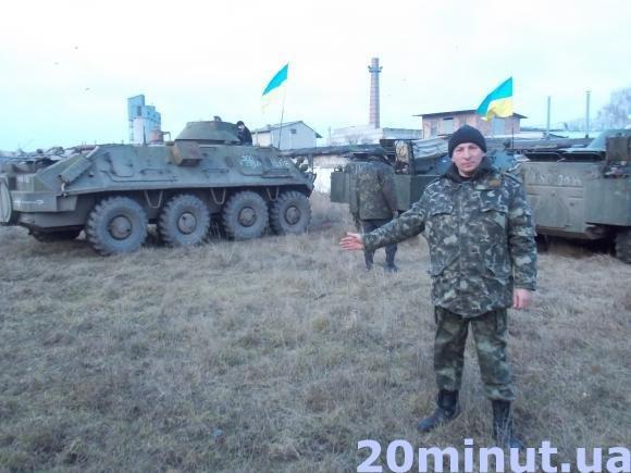 У Тернополі почали відновлювати віййськову частину (фото) (фото) - фото 1