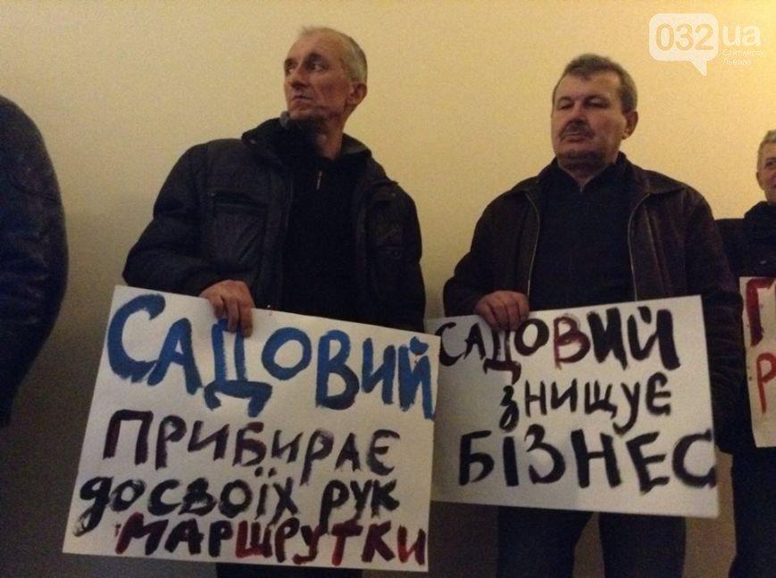 Ми, львівські перевізники, протестуємо на робочих місцях (фото) - фото 2