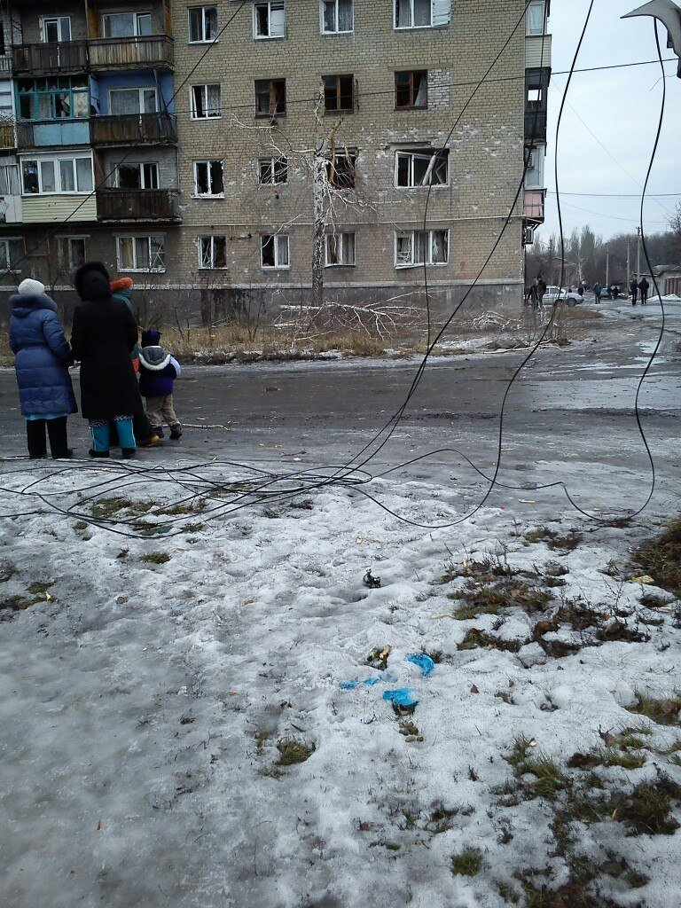 Сегодняшний обстрел в Макеевке: под ударом Червоногвардейский район (фото) - фото 1