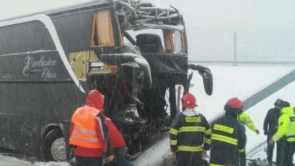 В Словаччині розбився рейсовий автобус Прага - Ужгород (ФОТО, ВІДЕО) (фото) - фото 5