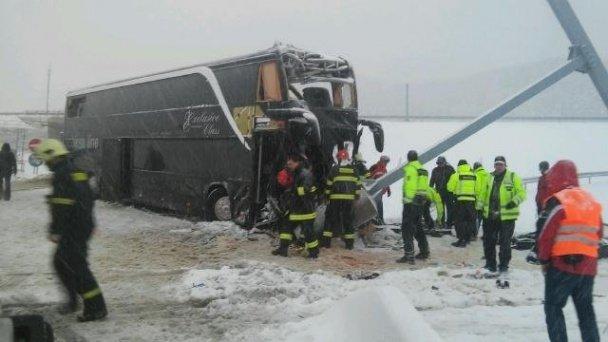 В Словаччині розбився рейсовий автобус Прага - Ужгород (ФОТО, ВІДЕО) (фото) - фото 4