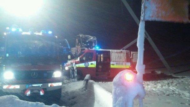 В Словаччині розбився рейсовий автобус Прага - Ужгород (ФОТО, ВІДЕО) (фото) - фото 1
