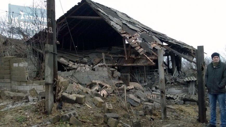 Макеевка после обстрелов 31 января (фото) (фото) - фото 1