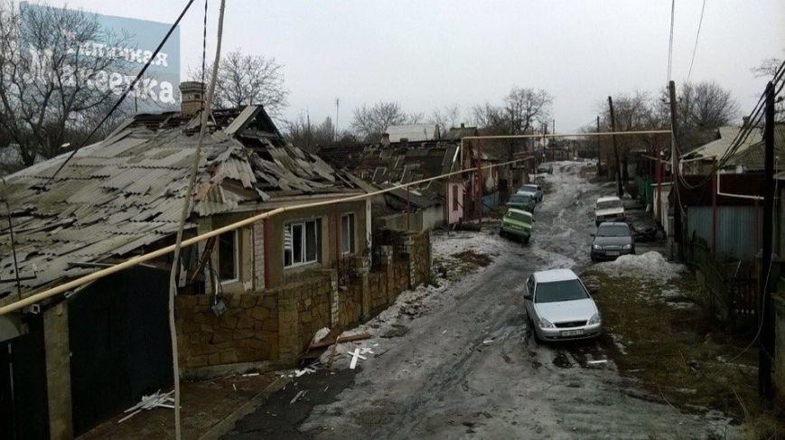 Макеевка после обстрелов 31 января (фото) (фото) - фото 12