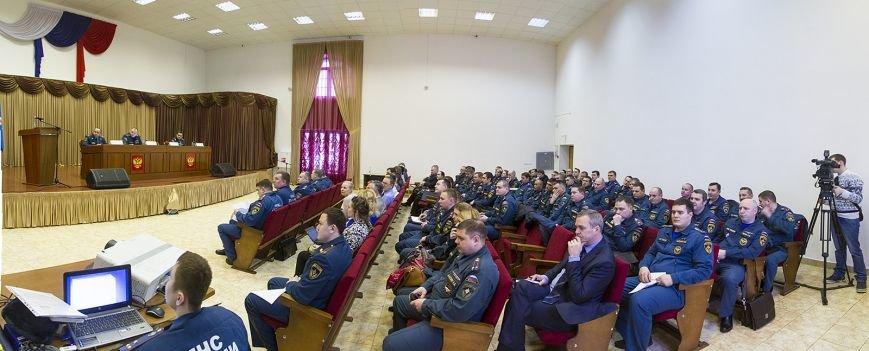 Совещание МЧС ТиНАО по итогам 2014 года 1