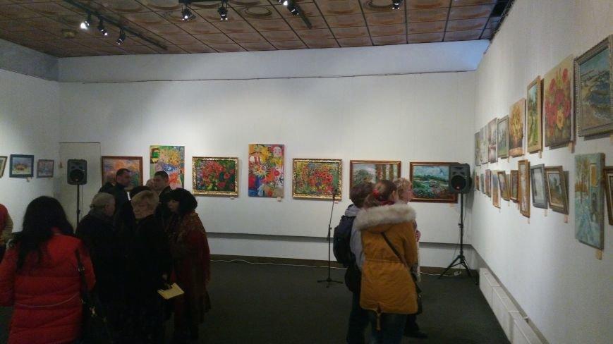 В Киеве открылась благотворительная выставка-продажа живописи (ФОТОРЕПОРТАЖ), фото-17