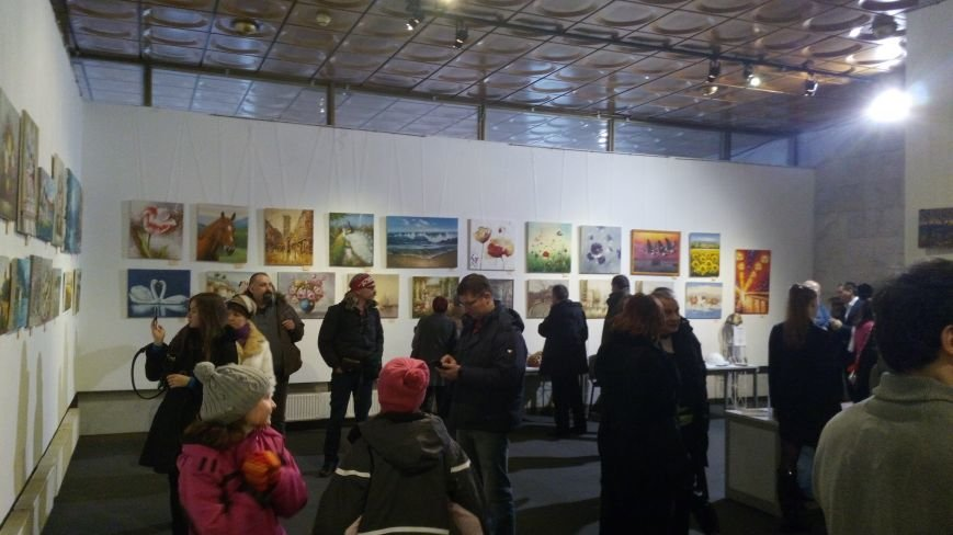 В Киеве открылась благотворительная выставка-продажа живописи (ФОТОРЕПОРТАЖ), фото-16