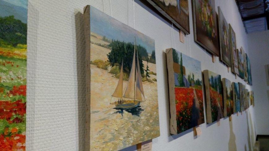 В Киеве открылась благотворительная выставка-продажа живописи (ФОТОРЕПОРТАЖ), фото-18