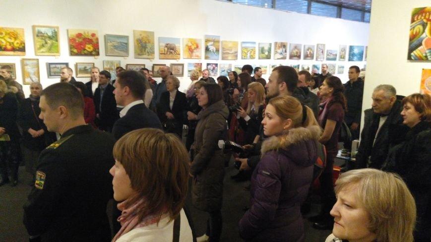 В Киеве открылась благотворительная выставка-продажа живописи (ФОТОРЕПОРТАЖ), фото-19