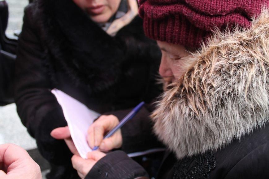 В Артемовске прошел митинг-протест матерей против мобилизации, фото-6