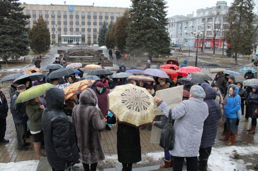 В Артемовске прошел митинг-протест матерей против мобилизации, фото-2