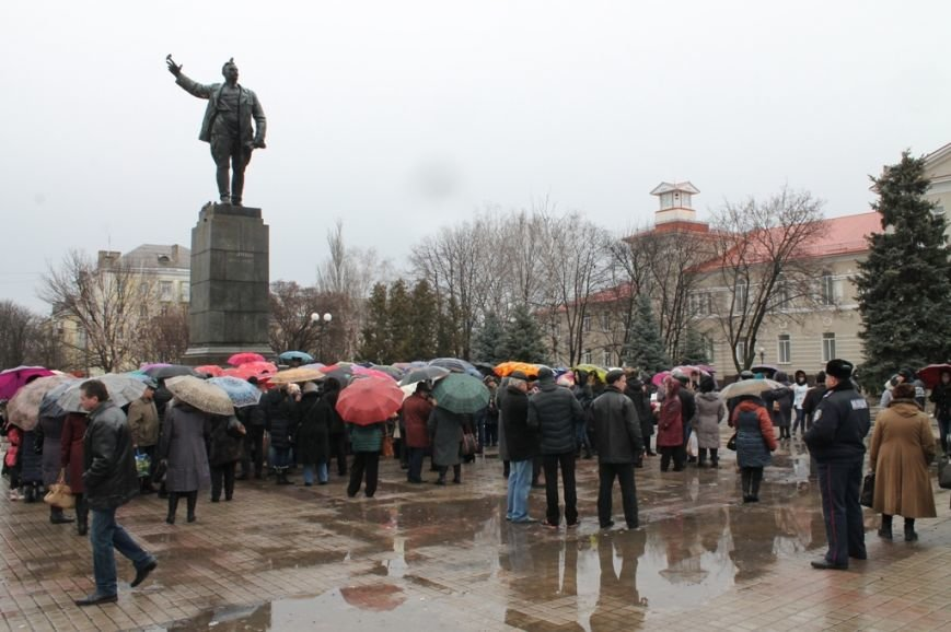 В Артемовске прошел митинг-протест матерей против мобилизации, фото-7