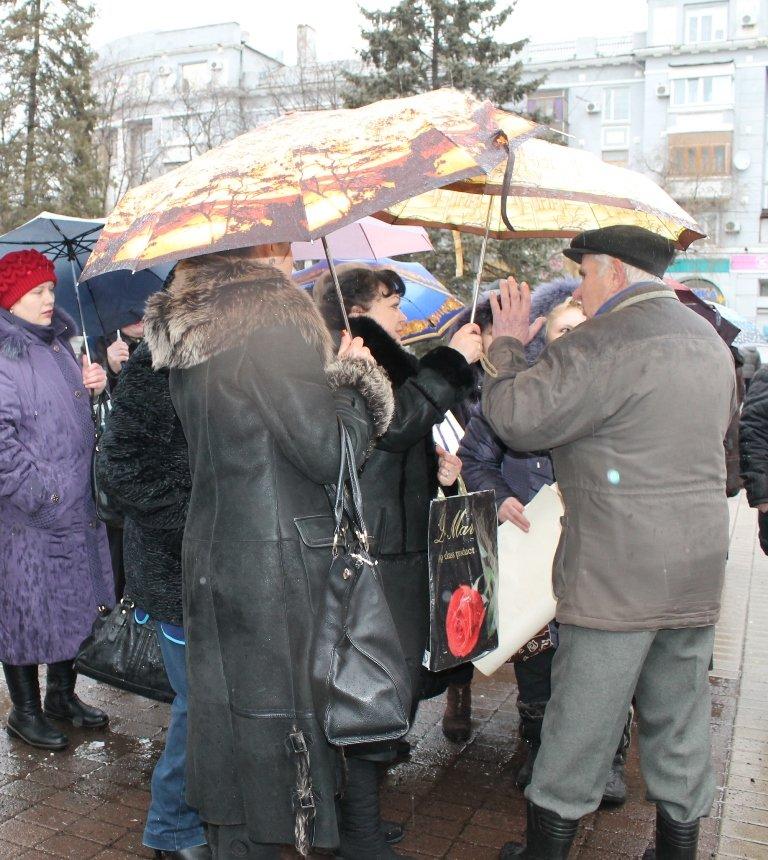 В Артемовске прошел митинг-протест матерей против мобилизации, фото-4