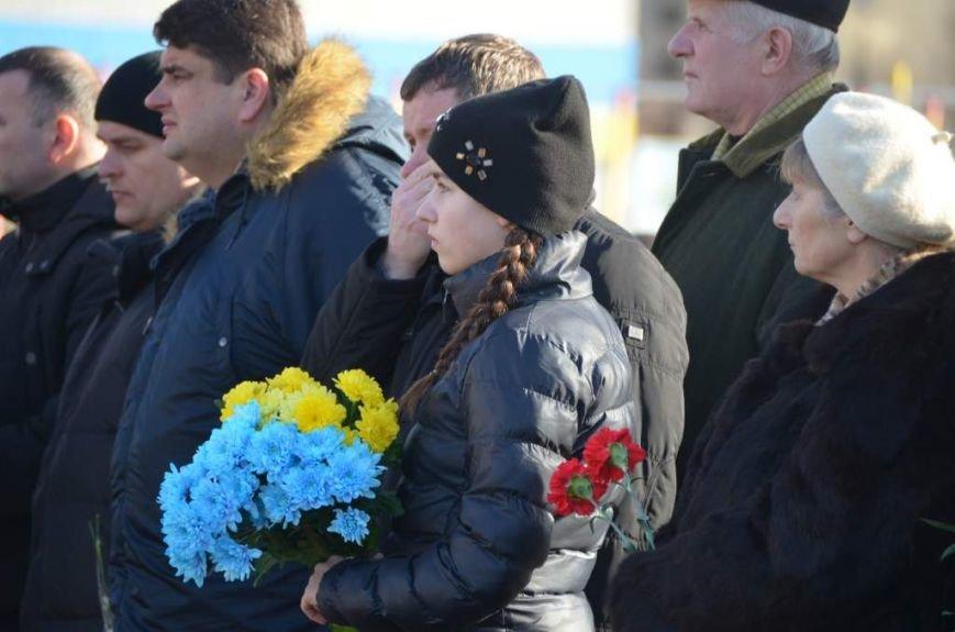 У Житомирі прощалися із військовим 95-ї окремої аеромобільної бригади Анатолієм Стратовичем, фото-1