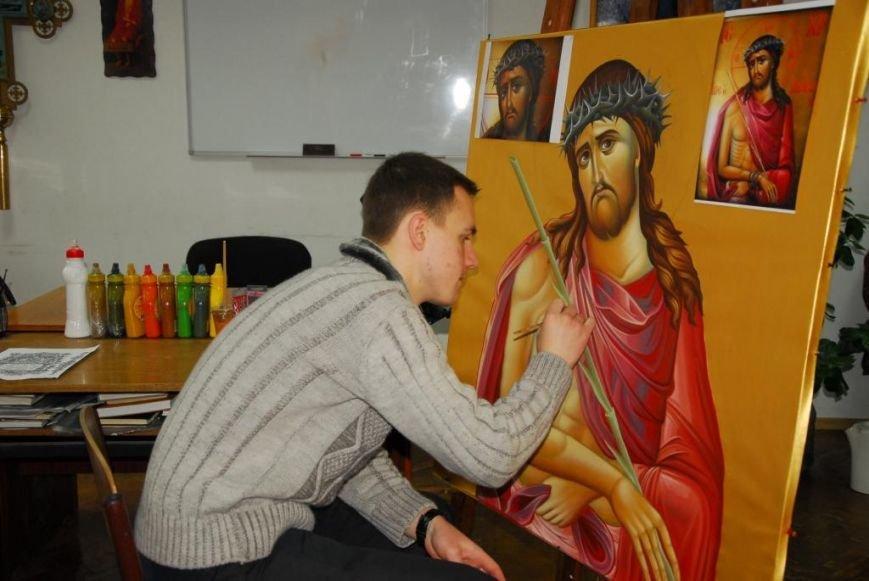 Ребята из Кременчугской воспитательной колонии посетили Полтавскую Миссионерскую духовную семинарию (ФОТО), фото-4