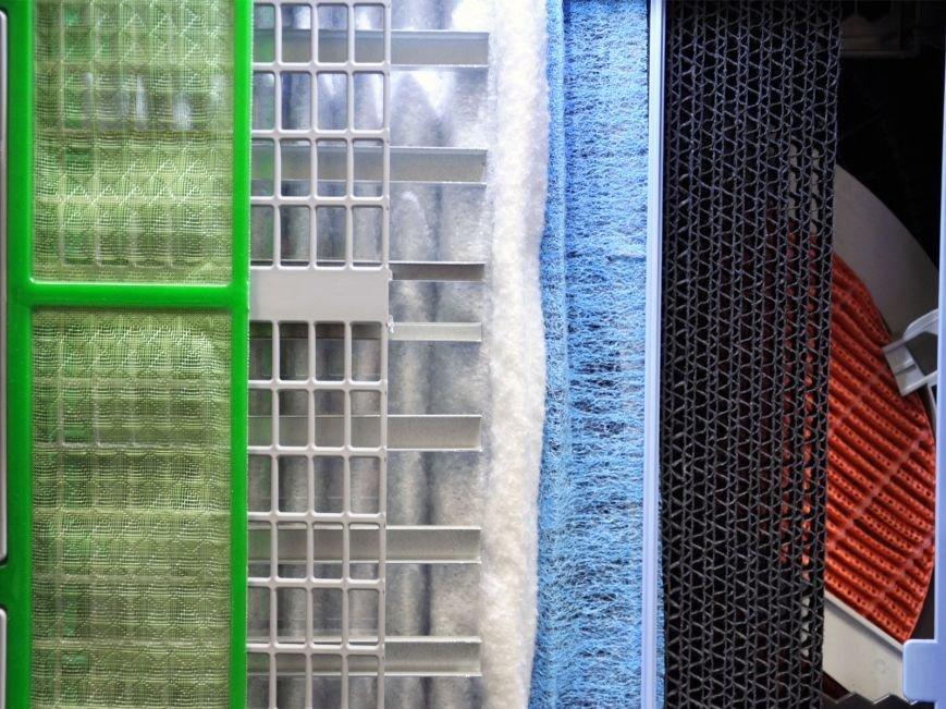 Схума фиьтрации очистителя воздуха Daikin Mck75j - 01