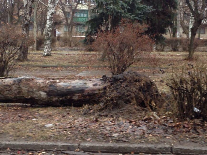 Последствия разгула стихии в Краматорске (ФОТО) (фото) - фото 1