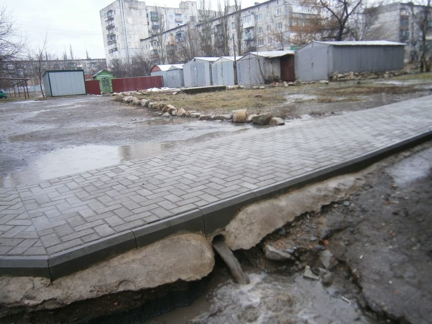 Жители Димитрова начали собирать дождевую воду (фото) - фото 5